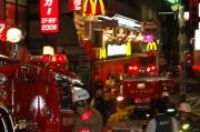 竹下通りの雑居ビルで火災 2名が軽いけが モデルスカウト事務所からの出火か