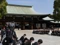 2014年4月2日 天皇皇后両陛下、皇太子殿下、明治神宮を御参拝