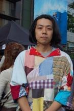 古布で渋谷川を再現、人も時も地域もつないで 西尾美也さん(現代美術家、西尾工作所代表)